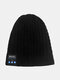 Men & Women Wool Warm Smart Wireless Bluetooth Beanie Knitted Hat with with Headphone and Built-in Stereo Speakers & Mic - #03