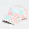Unisex Tie-dye Cotton Multi-color Gradient Color Sunscreen Visor Sun Hat Baseball Hat - #07