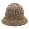 Femmes Hommes Hiver Chaud Laine Crochet À La Main Fishmen Chapeau En Plein Air Casual Coupe-Vent Simple Chapeau Sauvage