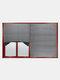 Cortina plisada de 1 pieza, filtrado de luz inalámbrico, tela plisada, cortina ciega, luz fácil de cortar e instalar - gris