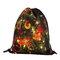 Christmas Backpack Drawstring Shoulder Bag For Women