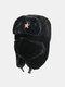 男性と女性の防寒冬用トラッパーハットマスクトラッパーハット付きの厚い冬用ハット耳栓 - #03