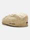 पुरुषों और महिलाओं के कपास विरोधी पहनने शैली पत्र कढ़ाई व्यक्तित्व फ्लैट टोपी बेरेट टोपी आगे टोपी - हाकी