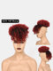 5 Colors Africa Small Curly Short Wig Fluffy Bangs Explosive Head Hair Bag - #03