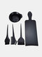 3/4/5 Pcs Hairdressing Tools Kit Hair Coloring Board Dyeing Brushes Home Shop Salon Hair Styling Accessories - #04