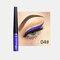 Matte Liquid Eyeliner Quick Dry Wasserdichter Eyeliner Bleistift Braun Lila Farbe Eyeliner Kosmetisches Make-up-Werkzeug - 04