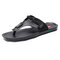 Men Clip Toe Soft Comfy Flip Flops Water Beach Casual Slippers