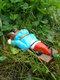 1 PC Halloween Creative Zombie Gnome Dwarf Spoof Garden Statues Outdoor Gardening Funny Garden Home Sculptures Crafts - #02
