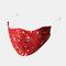 Multicolor Cotton Floral Mask Vintage Print Face Mask - #08
