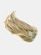 Cola de caballo de 10 colores Cabello Extensiones Fibra de alta temperatura Soft Recta Peluca - #04