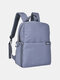 SLR Photography Backpack Double-layer Leisure Business Computer Backpack USB Multifunctional Digital Camera Bag - Blue