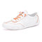 Men Light Weight Lace-up Round Toe Breathable Casual Driving Shoes - Orange