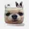 Cute Pet Pattern Warm Plush Mask - 02