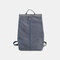 Men Waterproof Nylon Casual Large Capacity Backpack - Grey