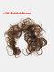 14 Colors Long Curly Wig Piece Disk Hair Caterpillars Hair Packs Bride Hair Extensions - #05