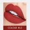 2 In 1 matten Lippenstift Lipgloss Double-Headed Design Wasserdicht Soft Smooth Cosmetic Lip Makeup - #12