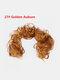14 Colors Long Curly Wig Piece Disk Hair Caterpillars Hair Packs Bride Hair Extensions - #12