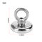 (With 10M Rope)250/150/80 KG High Power Fishing Magnets Super Strong Pull Force Round Neodymium Magnet with Eyebolt Strong Magnetic Ring Strong Magnetic Ring Salvage - D42