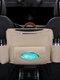 Cuero de PU Coche Respaldo del asiento intermedio Bolsa Recepción y suspensión automáticas Bolsa Coche Organizar maletero Bolsa - #23