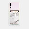 Marble Pattern Lycra Mobile Phone Back Sticker Card Case Multi-function Thermal Transfer Mobile Wallet - #2