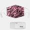 1つのマスクのガスケットが付いているZebraパターンポリエステル方法防塵マスク - #01