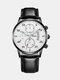 Alloy Business Casual Sports Belt Watch Quartz Watch For Men - #05