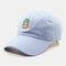 Men & Women Cactus Cartoon Embroidery Baseball Cap - Blue