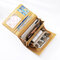 Women Plain Trifold Wallet Card Holder Coin Purse Phone Bag