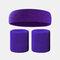 15 colori Soft Set di fascia per lo sport con fascia da polso per asciugamano Set di fascia per la fascia assorbente da sudore per sport sportivo - 11