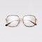 Anti Blue Light Goggles Led Reading Glasses Radiation-resistant Glasses Computer Gaming Eye Glasses - Gold