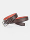 Men Faux Leather Belt Casual Fashion Business All-match Leather Belt - #05