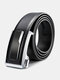 120CM Men Genuine Leather Alloy Automatic Buckle Business Casual All-match Belts - #01