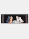 Cartoon Cute Katze Pattern Soft Anti-Rutsch-Tür Decke Teppich Teppich Küche Bodenmatte Indoor Outdoor Dekor - #04