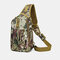 Men Oxford Camouflage Multi-carry Tactical Fishing Travel Outdoor Chest Bag Sling Bag - #03