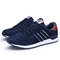 Men Nubuck Slip Resistant Lace Up Trainers Sport Casual Sneakers