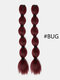 7 Colors Ponytail Hair Extensions Chemical Fiber Long Wig Braid - #07