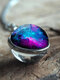 Vintage Double-Sided Glass Ball Women Necklace Universe Galaxy Nebula Pendant Necklace - #04
