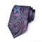 Männer drucken Jacquard Krawatte Mode Vintage Formal Business Casual Arbeitskleidung