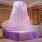 Techo Dome Toldo grande para cama con mosquitero Máxima protección contra insectos Sin irritación de la piel - púrpura