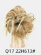 41 Colors Chicken Tail Hair Ring Messy Fluffy Rubber Band Curly Hair Bag Wig - 17
