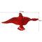 Europeo 3D estéreo pared resina pájaro pared fondo ornamento hogar artesanía decoración - #9