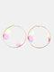 Double Three-dimensional Tulle Butterfly Earrings Temperament Ring Earrings - #01