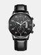 Alloy Business Casual Sports Belt Watch Quartz Watch For Men - #04