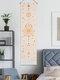 نسيج بوهيمي مرحلة القمر نمط الفن ديكور المنزل غرفة المعيشة غرفة نوم الديكور - اللون البيج