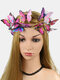 Coiffe de photographie de photographie de mariée papillon papillon en trois dimensions de Noël - #04