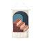 手織りのホームステイタッセルタペストリーの装飾北欧のメーターボックスぶら下がっている背景布の寝室 - #6