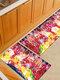 Pintura de acuarela Patrón Soft Puerta antideslizante Manta Alfombra Alfombra Alfombra de piso de cocina Interior al aire libre Decoración - #04