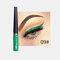 Matte Liquid Eyeliner Quick Dry Wasserdichter Eyeliner Bleistift Braun Lila Farbe Eyeliner Kosmetisches Make-up-Werkzeug - 09