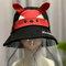 Children's Sun Hat Windproof Dust Cap Big-edge Outdoor Anti-UV Detachable Face Screen  - 03
