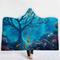 150x200cm المحيط مشهد سلسلة بطانية مع هود الدافئة لبس أفخم حصيرة